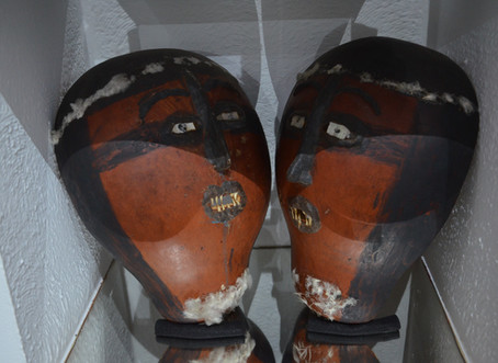 Máscaras cerimoniais Tapirapé