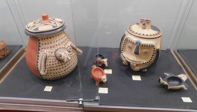 Peças de cerâmica Wauja