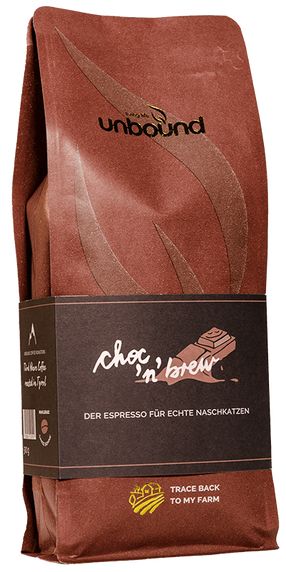 Choc'n'brew - Kräftiger Espresso