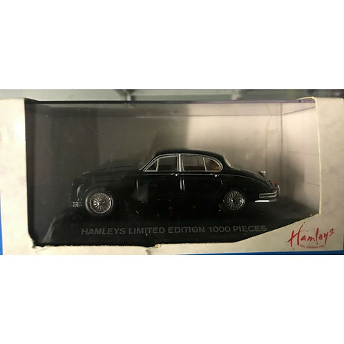 MINICHAMPS - JAGUAR MKII - HAMLEYS ISSUE - BLACK - 1:43 - BOXED #433130603