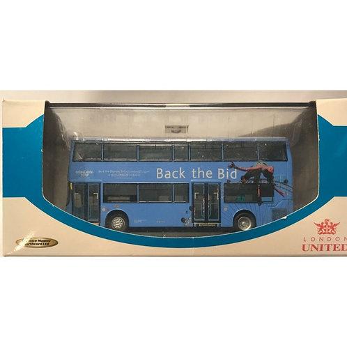 CMNL  TRIDENT ALX 400 BACK THE BID - ROUTE 94  BOXED #UKBUS 1020