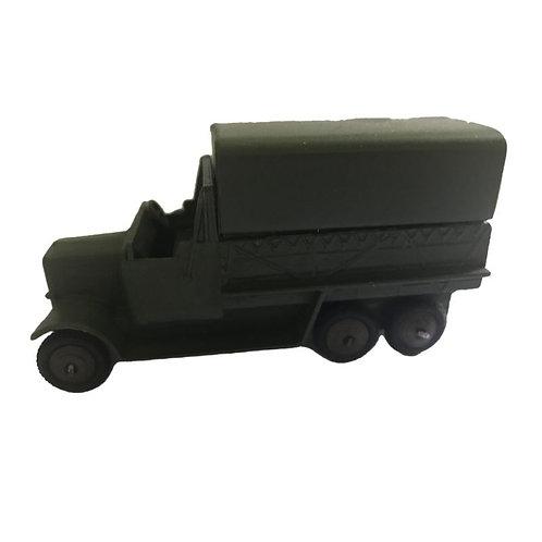 Dinky Toy 6-Wheel Wagon - Military - #151B