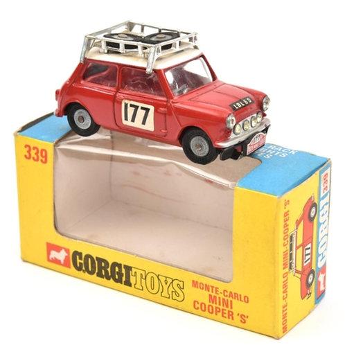 Corgi Toys Mini Cooper S, Monte-Carlo - Boxed - #339