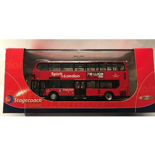 CMNL  ALEXANDER DENNIS ENVIRO 400 - SPIRIT OF LONDON - BOXED #UKBUS 6001