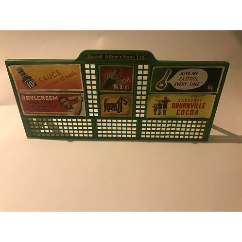 DINKY ROAD HOARDING  SET - BOXED - #765