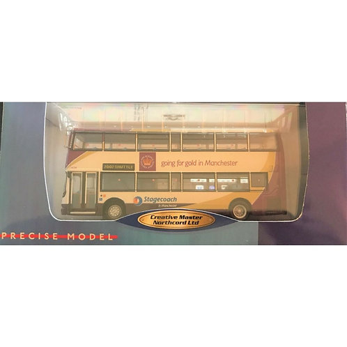 CMNL  ALEXANDER DENNIS ALX 400 - STAGECOACH MANCHESTER 2002 - BOXED #UKBUS 1008