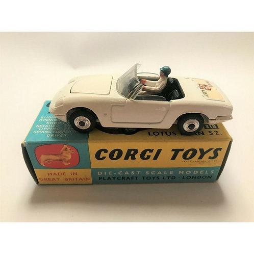 CORGI LOTUS ELAN - ALL WHITE - SCARCE - BOXED - #319