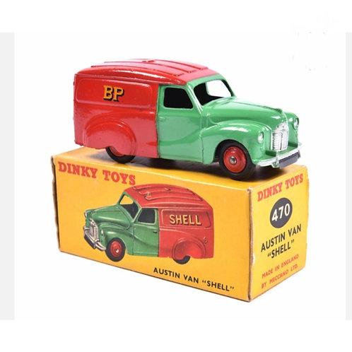 Dinky Toys Austin Van - SHELL/BP- #470