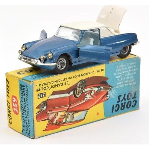 Citroen 'Le Dandy' in metallic blue / white - Boxed - #259
