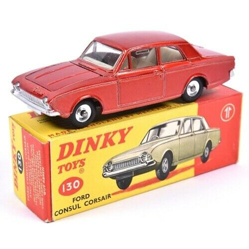 DINKY FORD CORSAIR SALOON - METALLIC RED - BOXED - #403
