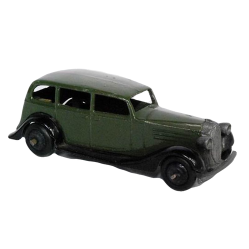 Dinky Vauxhall saloon in green #30D