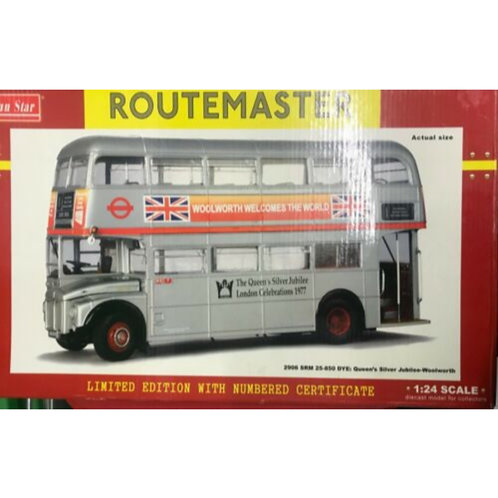 SUNSTAR ROUTEMASTER - RM 25 - ROUTE 1 - SILVER JUBILEE LIVERY-- #2906