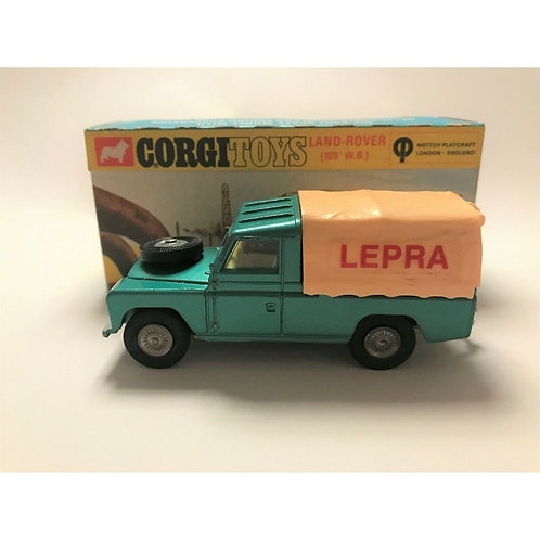 CORGI LAND ROVER LEPRA PROMOTIONAL MODEL - SCARCE - BOXED - #438