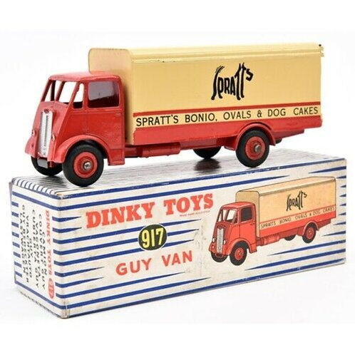 DINKY GUY VAN - SPRATTS - BOXED #917