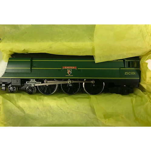 HORNBY 4-6-2 WEST COUNTY SR EXETER WITH PRESENTATION BOX - #R320