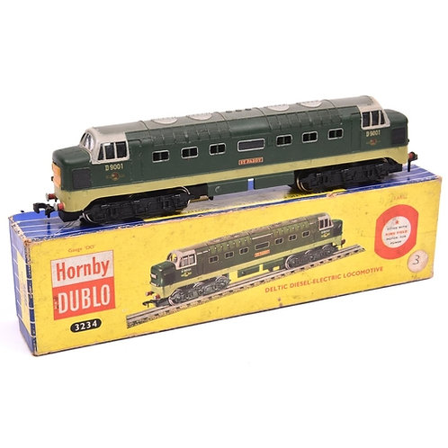 Hornby Dublo 3-rail BR Deltic Diesel-electric Co-Co locomotive (3234). St. Paddy