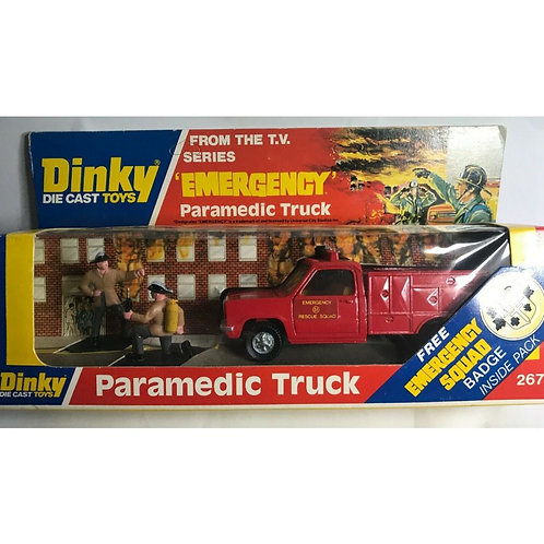 DINKY EMERGENCY PARAMEDIC TRUCK - BOXED - #267