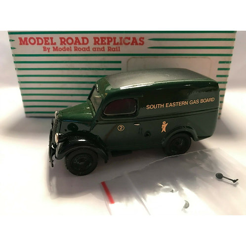 "MRR FORD E83W VAN ""SEGAS"" - FACTORY BUILT - BOXED - 1:43"
