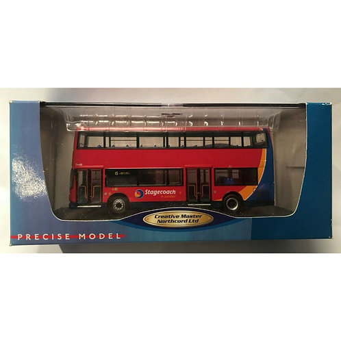 CMNL  ALEXANDER DENNIS ALX 400 - STAGECOACH - ROUTE 15 - BOXED #UKBUS 1003