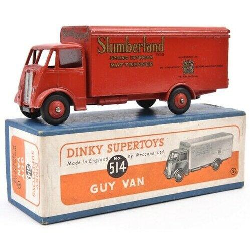 DINKY GUY VAN - SLUMBERLAND - BOXED - #514