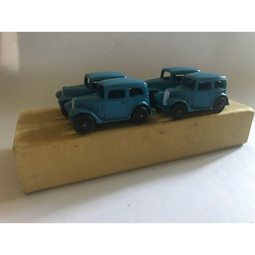 Dinky Toys trade box - 35A with four examples.