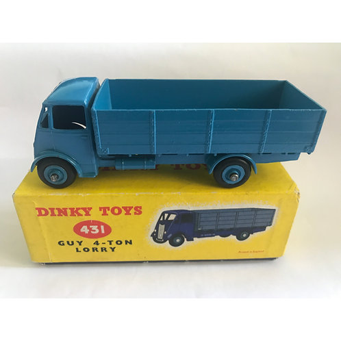 DinkyToy Guy 4-ton truck. Very scarce all blue.#431