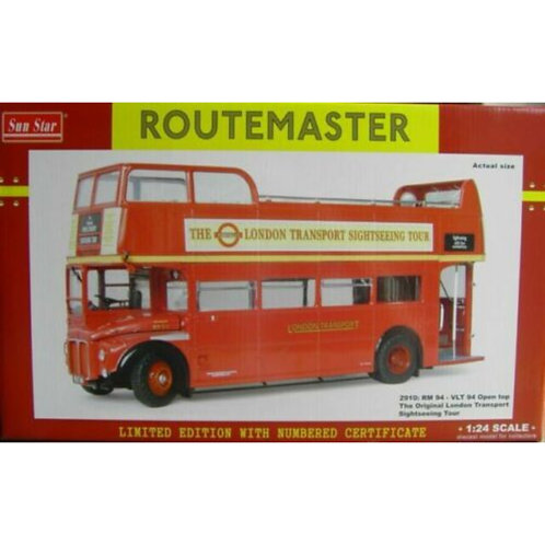 SUNSTAR ROUTEMASTER - RM 94 - OPEN TOP SIGHTSEEING - #2910