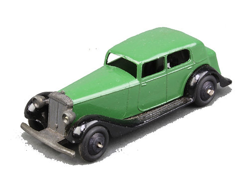 Dinky Daimler Saloon in Green #30D