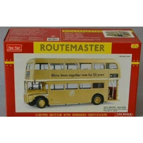 SUNSTAR ROUTEMASTER - RM 1983 - ROUTE 190 - 1983 JUBILEE LIVERY-- #2911