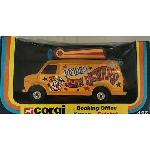 CORGI BOOKING OFFICE VAN - JEAN RICHARD CIRCUS - BOXED -#426
