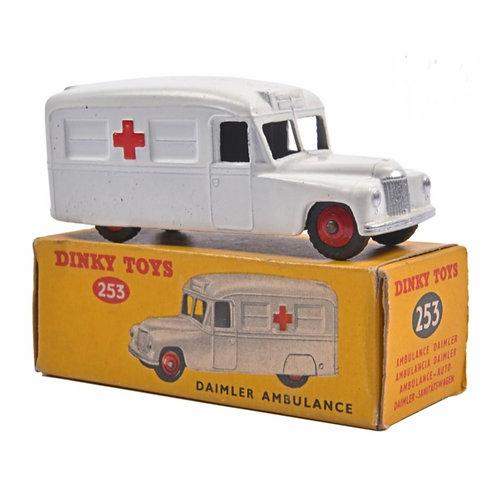Dinky Toys Daimler Ambulance - Boxed #253