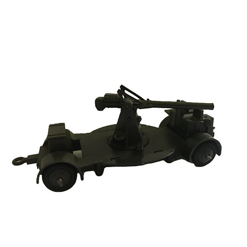 Dinky Toy Military Anti Aircraft Gun - #161B