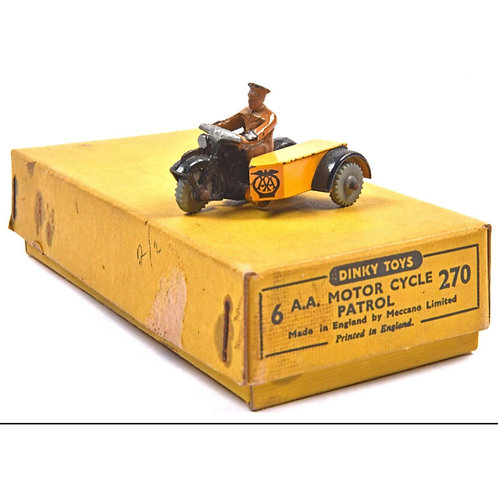Dinky Toys Trade Pack of 6 A.A. Motor Cycle Patrol #270