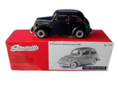 Somerville   Ford Popular Saloon - 103E - Black - #103