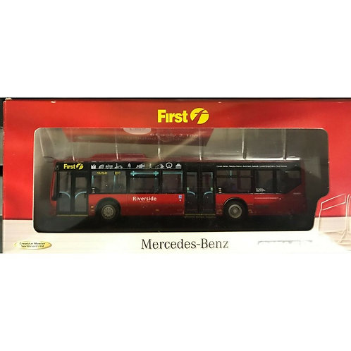 CMNL  MERCEDES CITARO  - FIRST RIVERSIDE - ROUTE RV1 - BOXED #UKBUS 5001