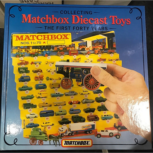 """MATCHBOX """"THE FIRST 40 YEARS"""