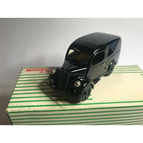 MRR FORD E83W VAN - BLACK - PRIVATE AMBULANCE - BOXED - 1:43