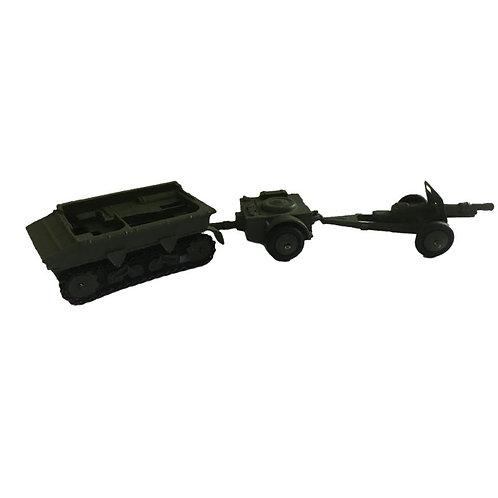 Dinky Toy Military Gift Set - 18 Pounder Set - #162