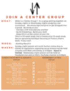 Updated Center Gorup Info for website.pn