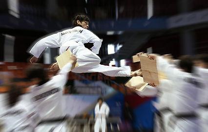 Taekwondo Advanced Breaking