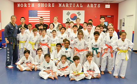 A picture taken after a child class