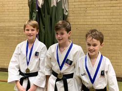 Team Kata gold medallists
