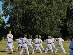 Blue belt class