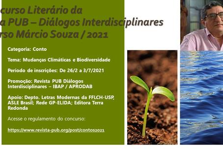 Concurso de contos reúne obras relacionadas às mudanças climáticas e à proteção da biodiversidade