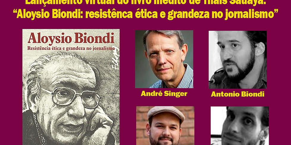 Ética e jornalismo: Debate lança livro Aloysio Biondi