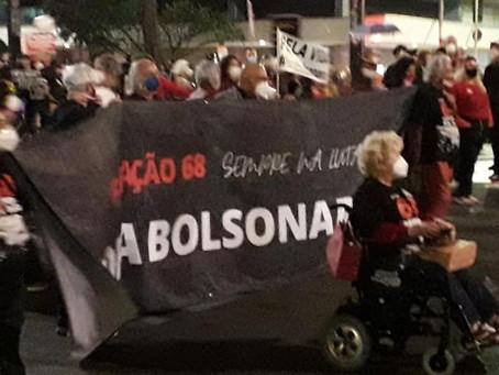 Com Chico Buarque e Zé Dirceu, geração 1968 se une contra Bolsonaro