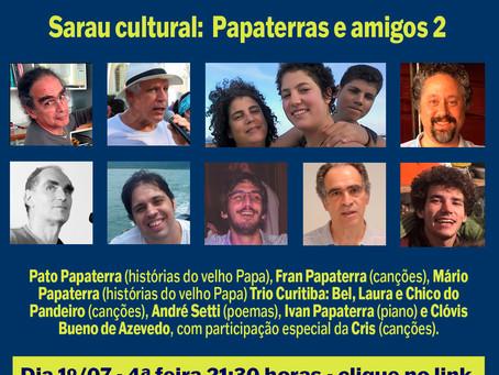Papaterras e amigos 2: familiarizando a cultura.