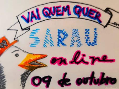 Sensacional Sarau Vai Quem Quer 4 na sexta, 9/10