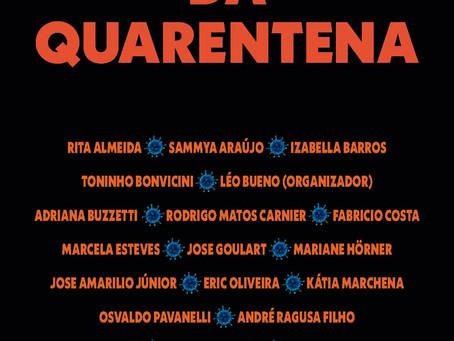 """Livro """"Contos da Quarentena"""" foi lançado na sexta, 11/12"""