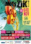 Affiche Mots zik 2013
